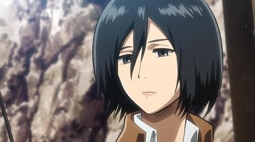 Top 10 Coolest Anime Characters of All Time - Mikasa Ackerman - Shingeki no Kyojin (Attack on Titan)