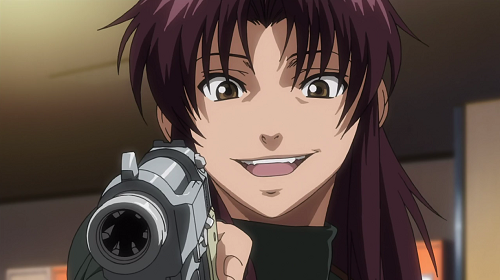 Top 10 Coolest Anime Characters of All Time - Revy - Black Lagoon