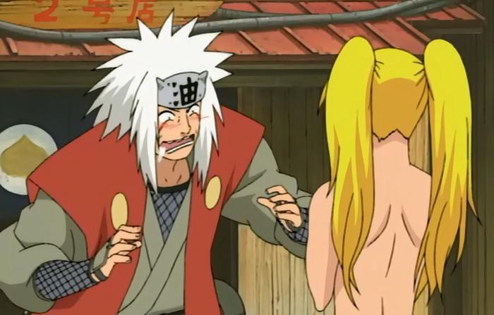 Jiraiya Naruto Sexy No Jutsu