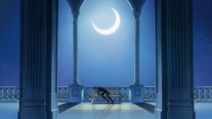 Sailor moon crystal kiss screenshot