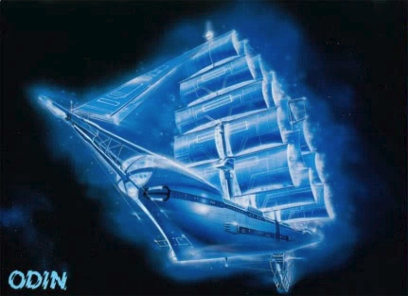 Odin Photon Sailor Starlight spaceship boat