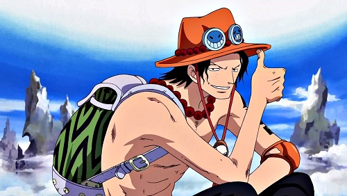 Top 10 Coolest Anime Characters of All Time - Portgas D. Ace - One Piece