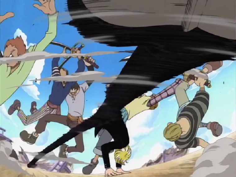 Party Table Kick Course One Piece Sanji's Windmill attack