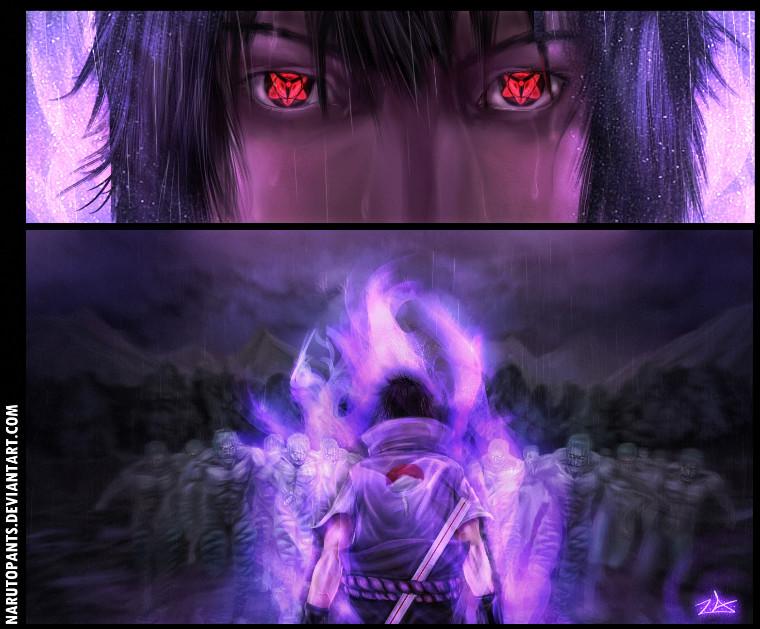 Naruto Sasuke fanart