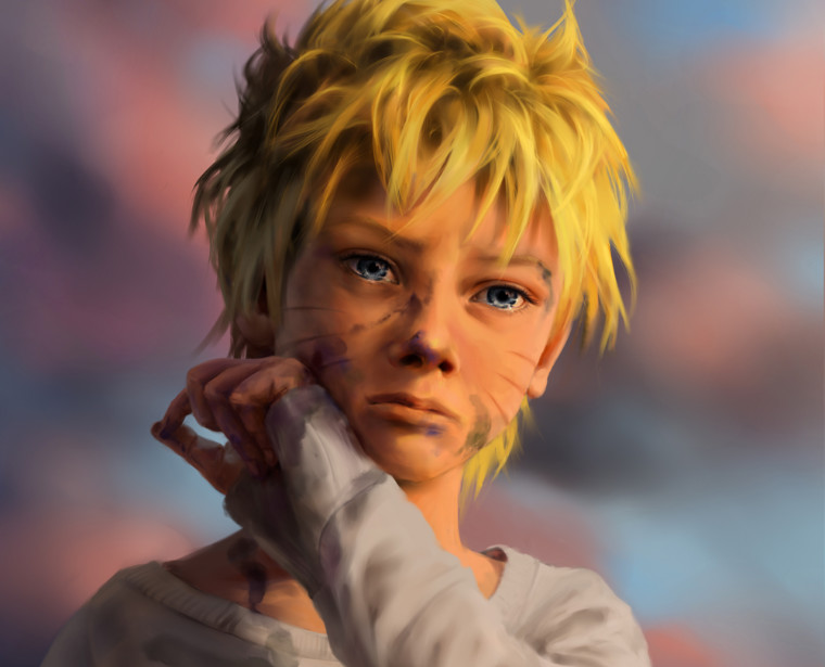 Young Naruto fanart