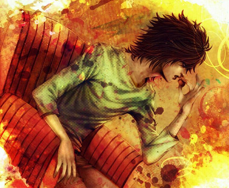 Death Note fanart L chocolate
