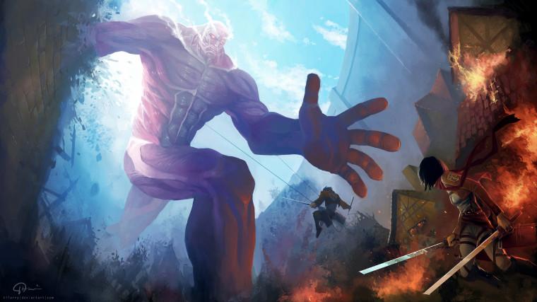 Attack on Titan fanart