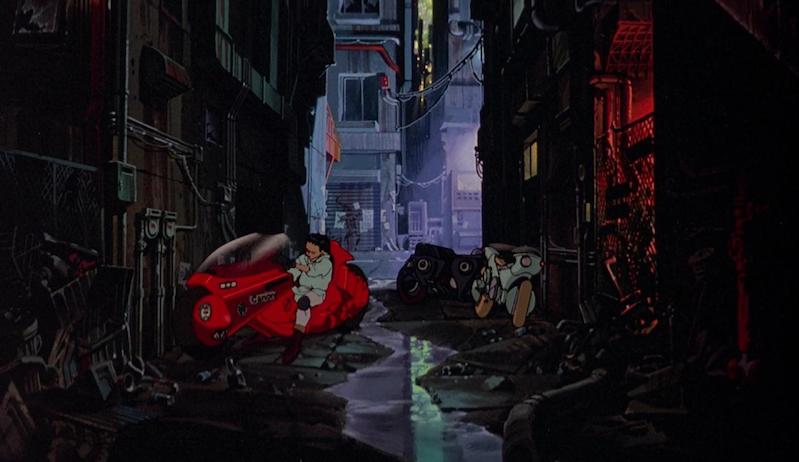 Akira alleyway background