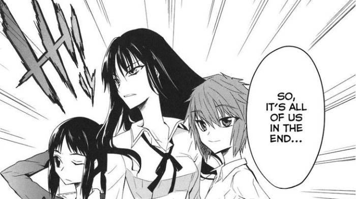 Chitose Karasuyama, Sakura Mizukami, D-Frag!
