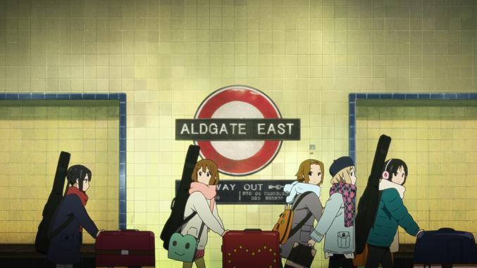 K-ON! Movie, Azusa, Yui, Ritsu,Tsumugi, Mio