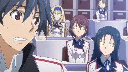 Infinite Stratos Orimura Ichika clueless mc