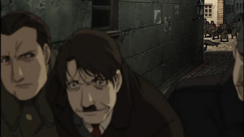 Hitler defeated, Fullmetal Alchemist: The Conqueror of Shamballa
