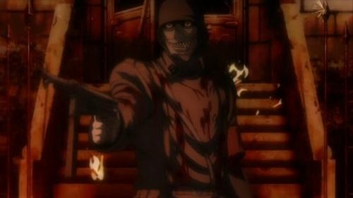 Nazi vampire with a gun, Hellsing Ultimate