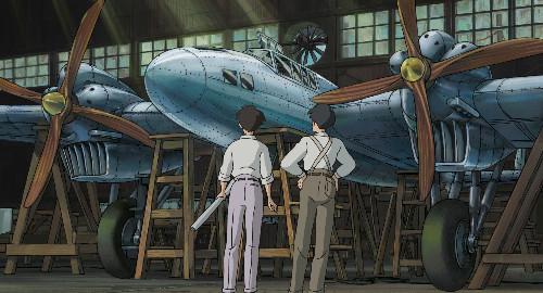 Studio Ghibli the wind rises