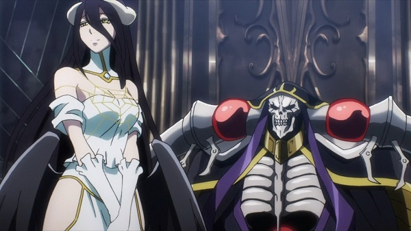 Overlord momonga and albedo