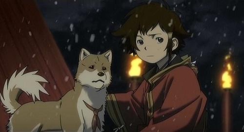 Top 20 Cute Anime Dogs - Tobimaru - Stranger: Mukou Hadan (Sword of the Stranger)