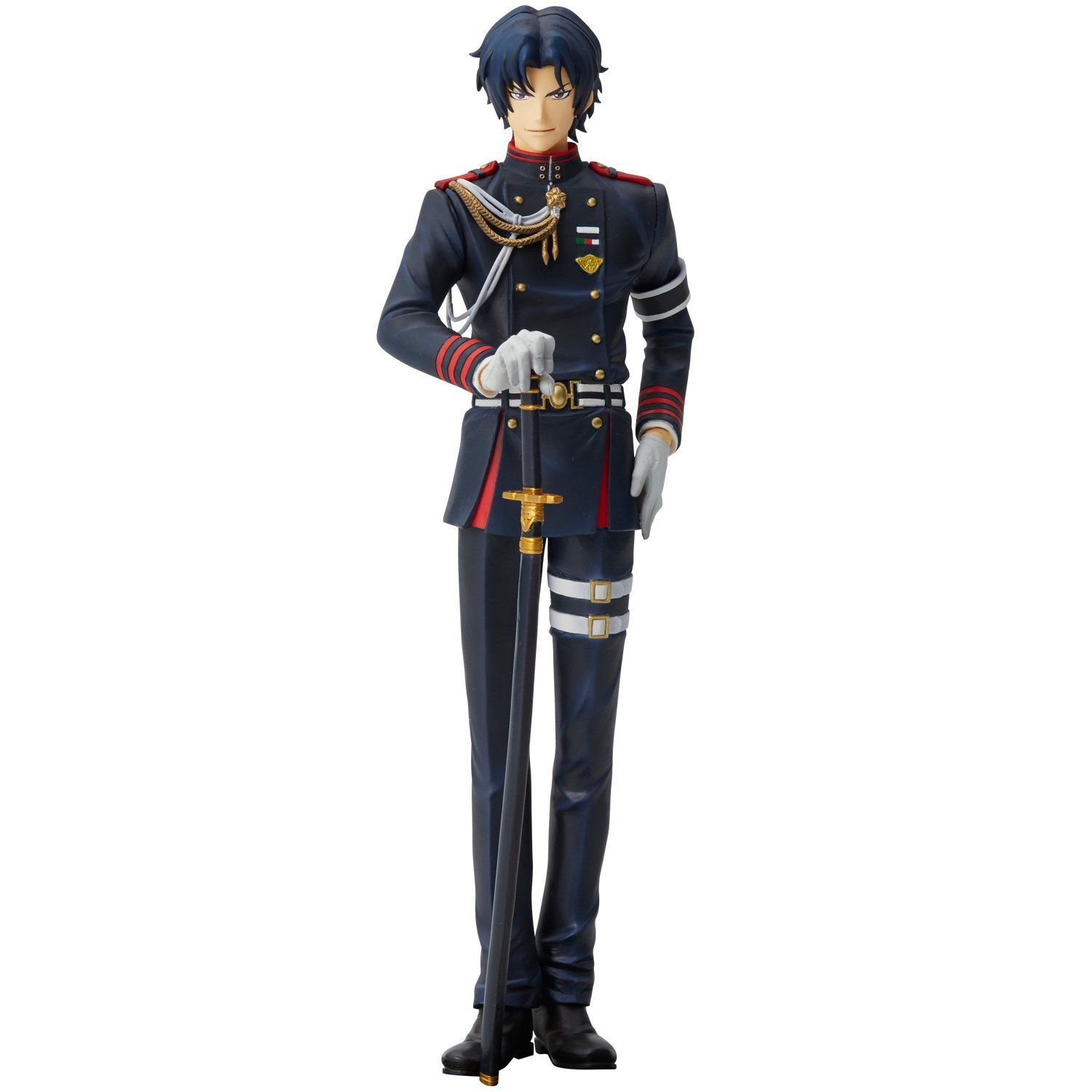 Seraph of the End Union Creative mensHdge Technical Statue No.24 Ichinose Guren Figure Rinkya