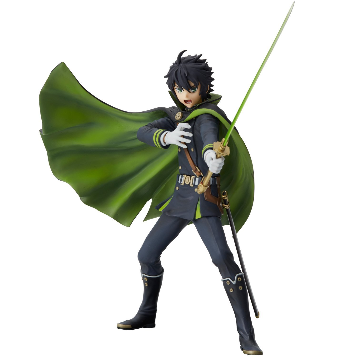 Seraph of the End Union Creative mensHdge Technical Statue No.24 Yuichiro Hyakuya Figure Rinkya