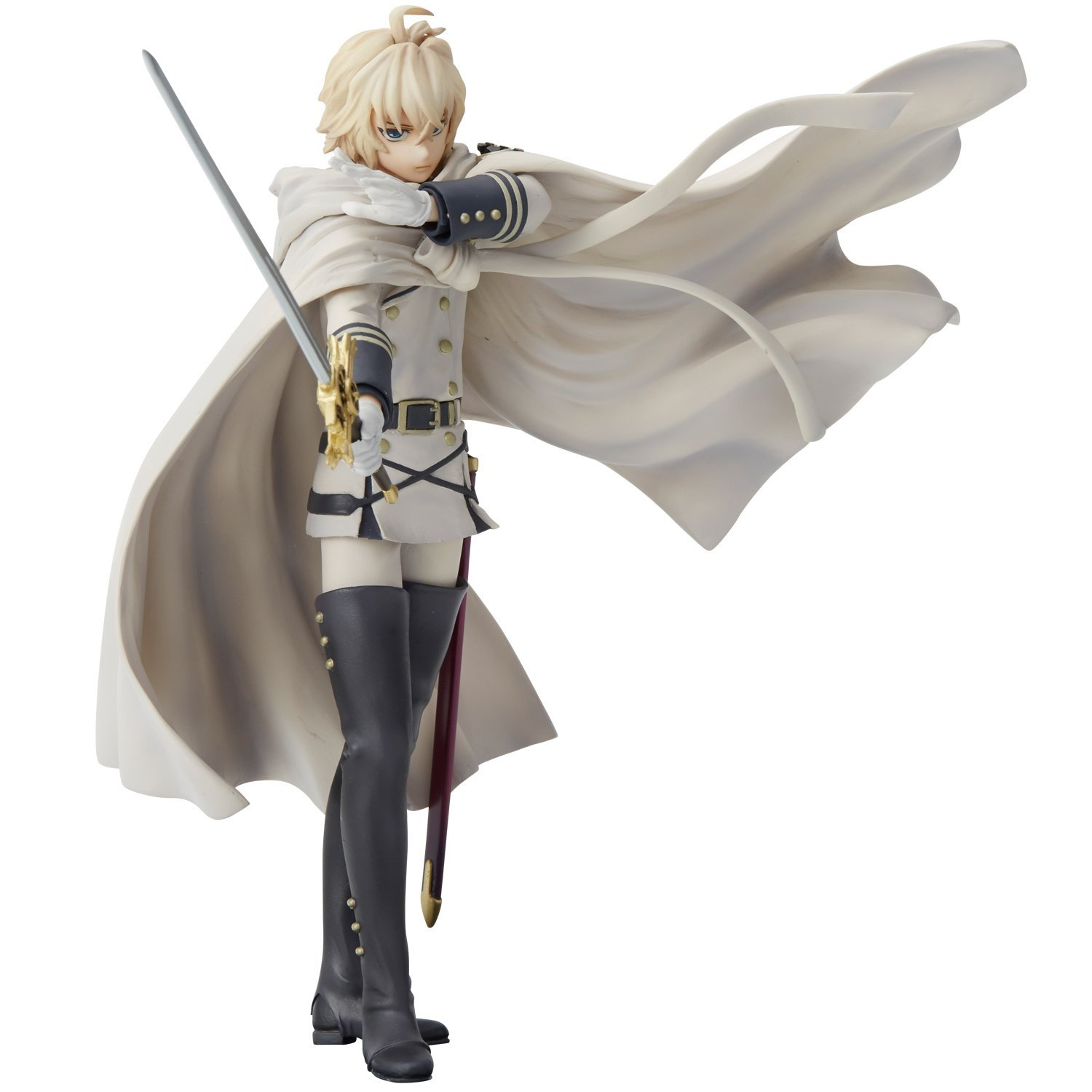 Seraph of the End Union Creative mensHdge Technical Statue No.22 Mikaela Hyakuya Figure Rinkya