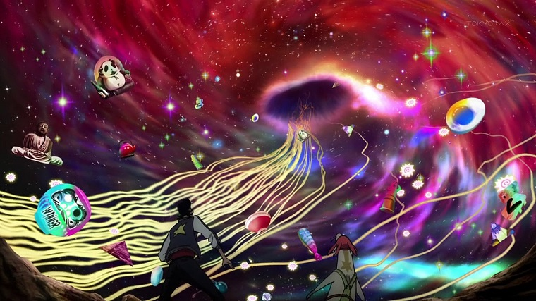 Space Dandy wormhole episode 2
