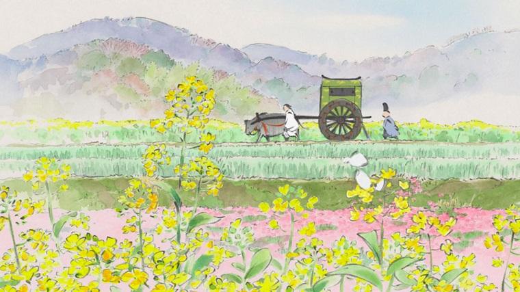 Princess Kaguya horse and cart