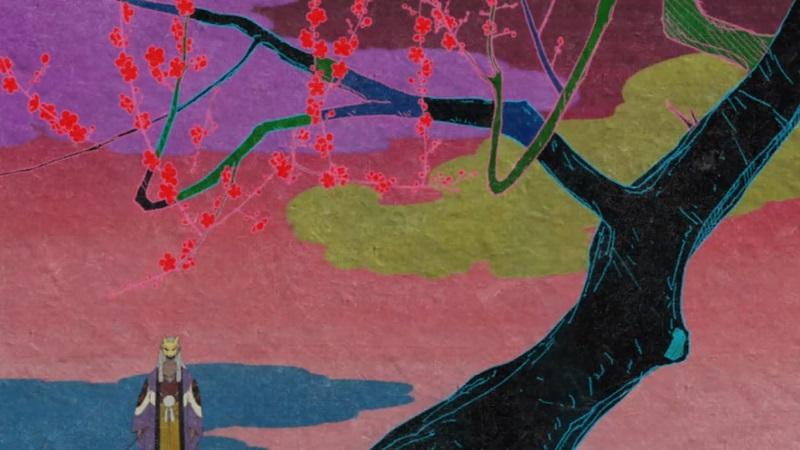 Mononoke tree background