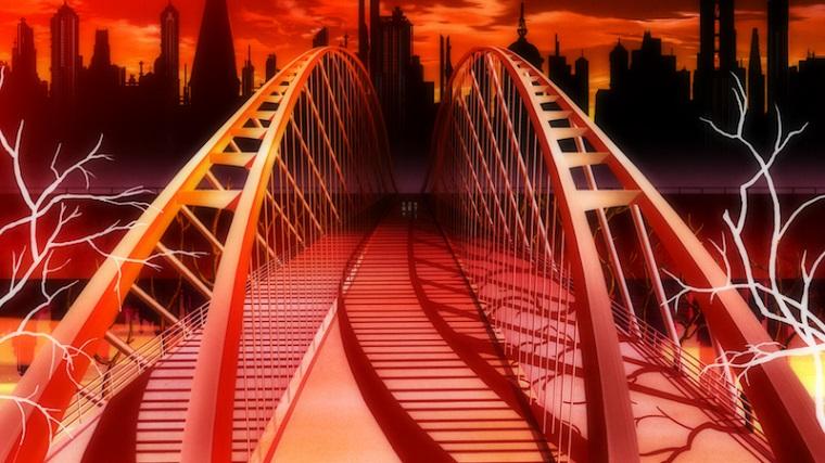 Madoka Magica bridge background