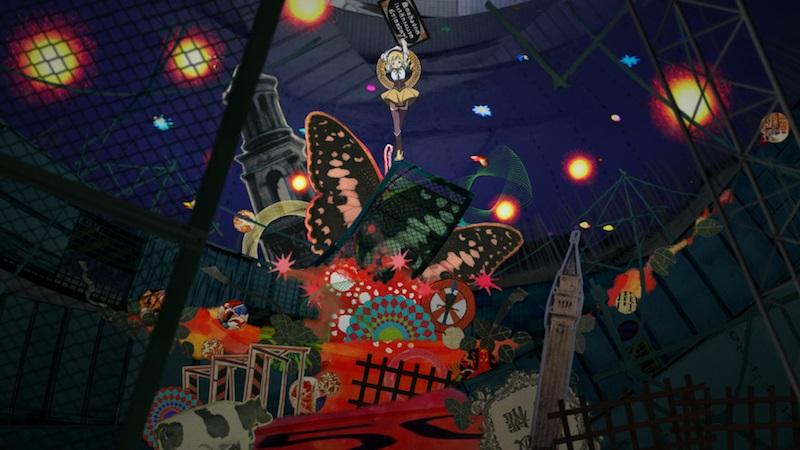 Madoka Magica witch's maze background