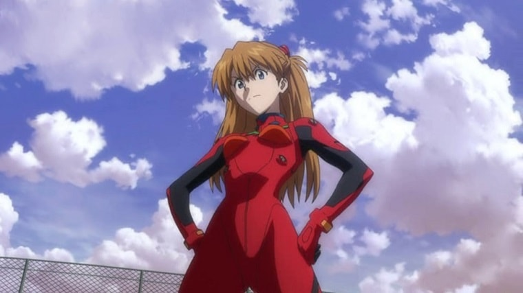 Asuka Langley from Neon Genesis Evangelion, the original tsundere