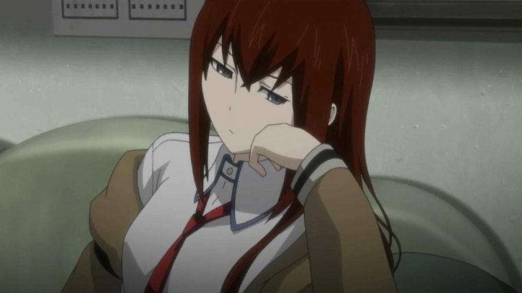 The most intelligent tsundere ever, Makise Kurisu, from Steins;Gate tsundere