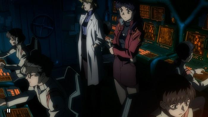 Evangelion control room