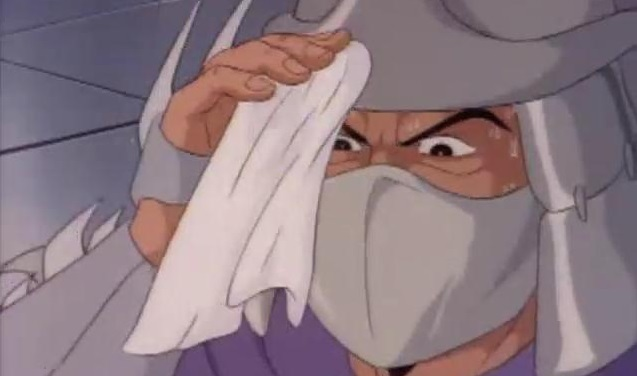 Sweating Ninja Guy Anime Banner
