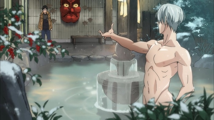 Yuri on Ice Naked Onsen Scene