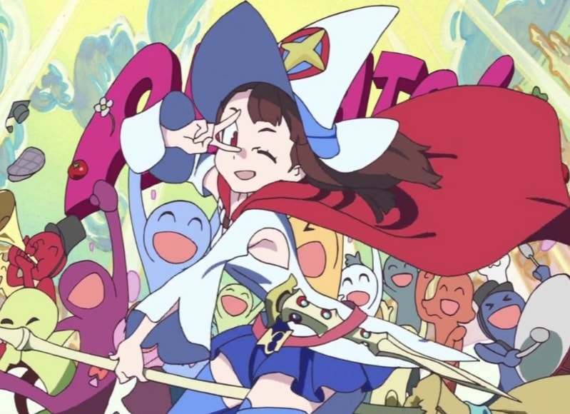 Little Witch Academia The Enchanted Parade Akko as Shiny Chariot