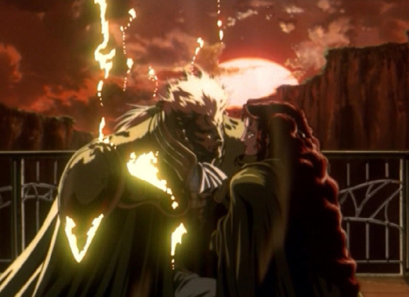 Vampire Hunter D Bloodlust essential anime movie vampire flames