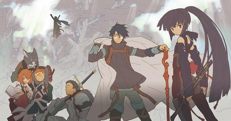 Log Horizon Anime like Sword Art Online