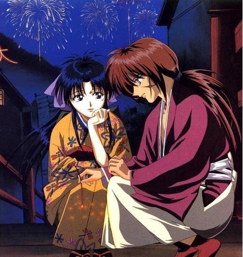 Action Romance Anime, Kaoru Kamiya, Kenshin Himura, Rurouni Kenshin: Meiji Kenkaku Romantan