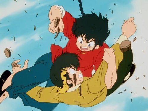 Ranma 1/2 fight