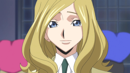 Anime Girl Hairstyles, Milly Ashford with elegant side-swept hairstyle, Code Geass: Hangyaku no Lelouch