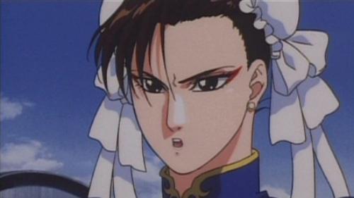 Chun-Li with bun hairstyle, Street Fighter II: The Movie