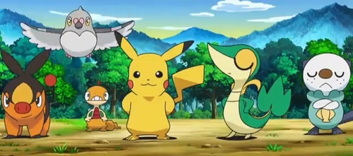 Pokemon Best Wishes!_Starting Team, Pikachu
