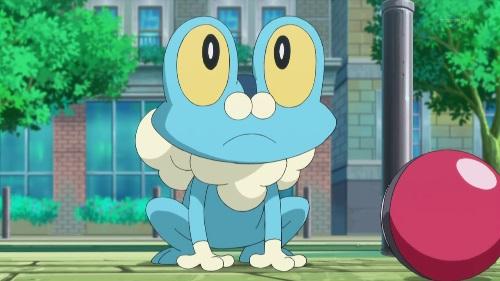 Pokemon XY_Ash's Froakie