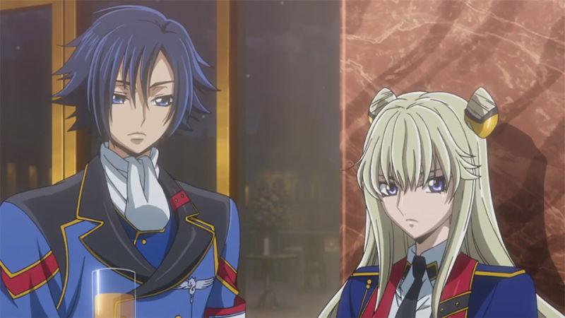 Code Geass: Akito the Exiled, Akito and Leila