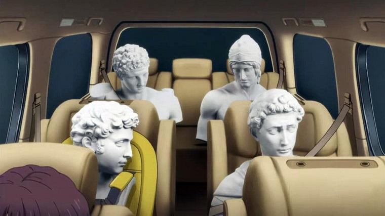 Sekkou boys in the car