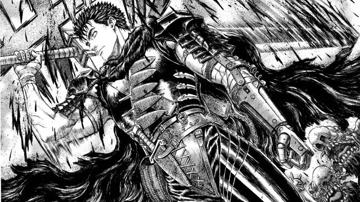 Adult Manga, Guts, Berserk