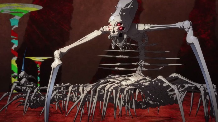 The Skull Reaper is one of the many anime monsters in Sword Art Online