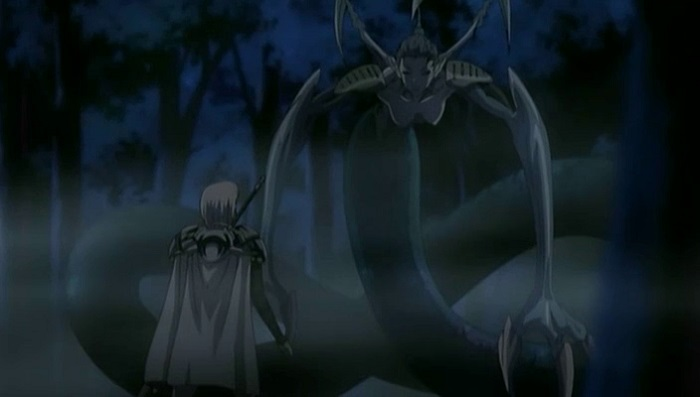 Ophelia, a type of Yoma called Voracious Eaters or Awakened Beings in the Claymore anime