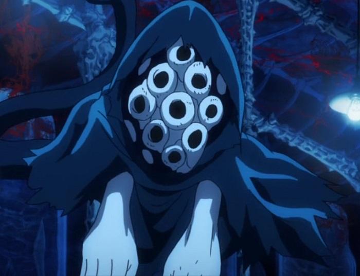 Shiboroba, a beyondian that uses the Ghost Wagon in Kekkai Sensen aka Blood Blockade Battlefront