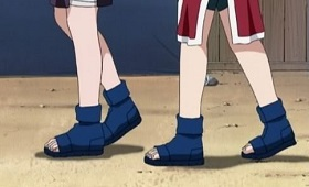 anime shoes in naruto