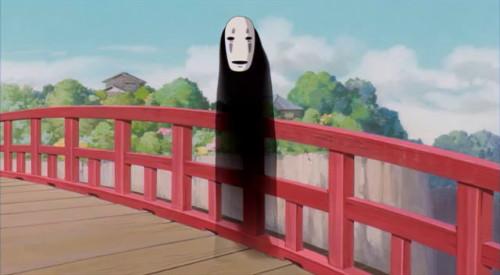 Spirited Away Kaonashi no face